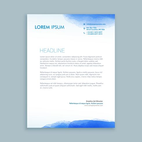 Corporate business letterhead template vector design illustrati corporate business letterhead template vector design illustrati cheaphphosting Gallery