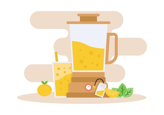 Iconic Smoothie + Ingredients Vectors