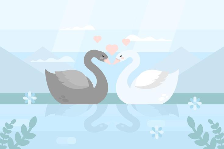 Créatures en amour Illustration