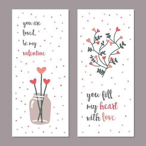 Feminine Valentinskarten