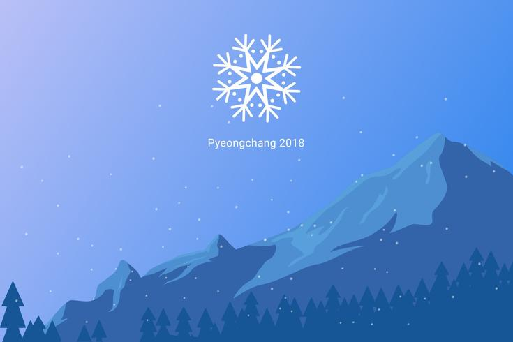 Iconic Winter Olympics Vectors