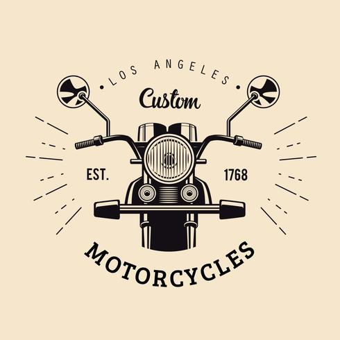 Vintage Motorcycles Emblem - Download Free Vector Art, Stock Graphics & Images