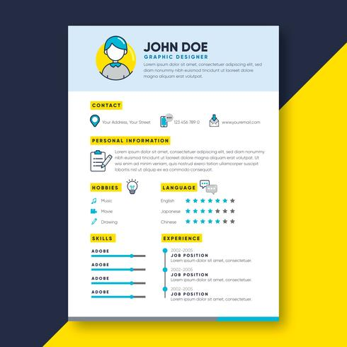 graphic designer resume - Graphic Designer Resume