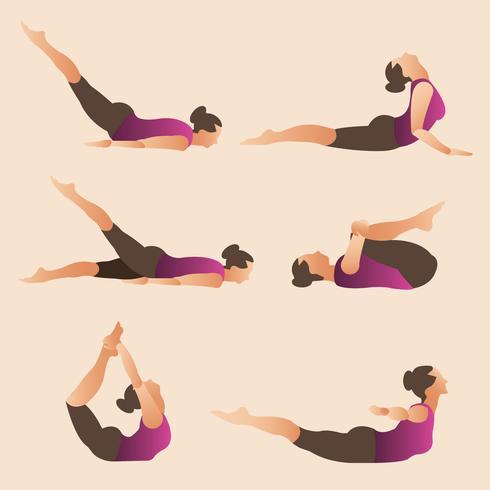 Yoga Practice - Download Free Vector Art, Stock Graphics & Images