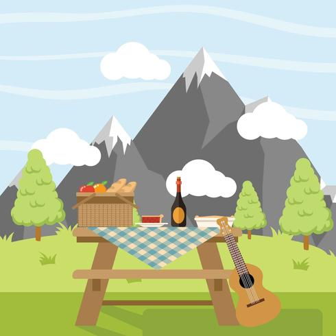 Family Picnic - Download Free Vector Art, Stock Graphics & Images