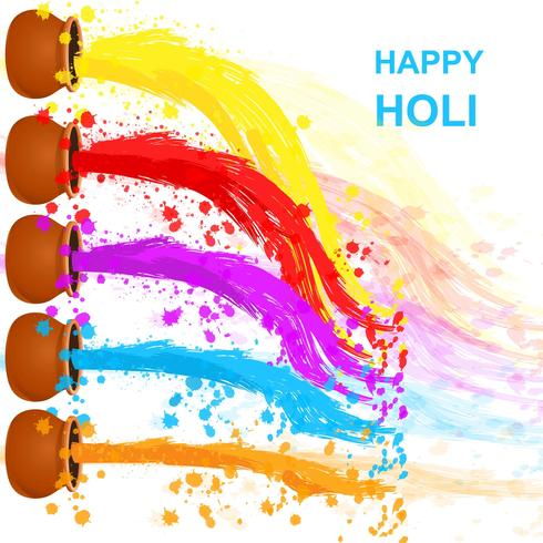 Happy Holi Background