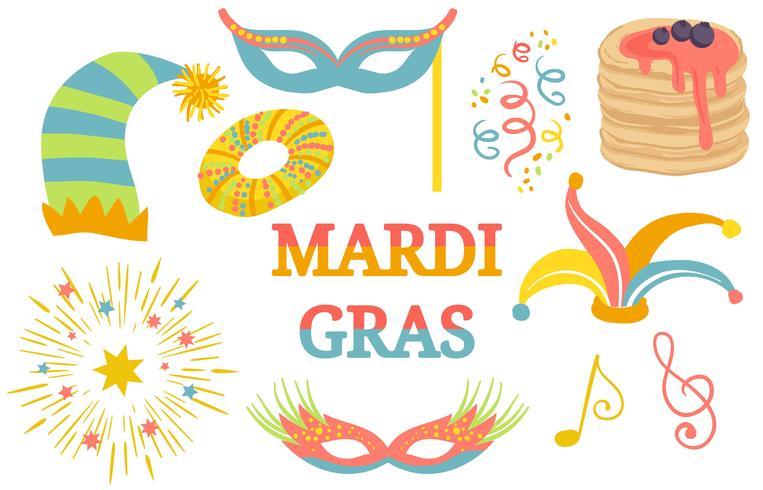 Mardi Gras Festival Vectoren