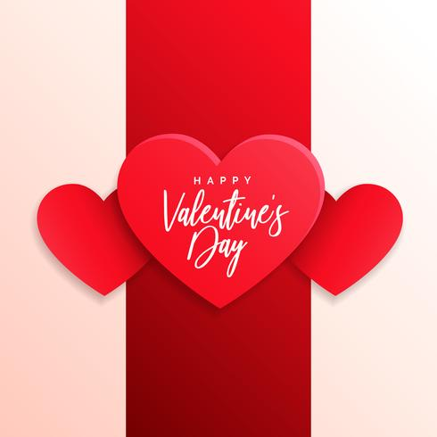 valentine's day greeting card design background