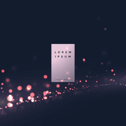 modern bokeh light effect background design