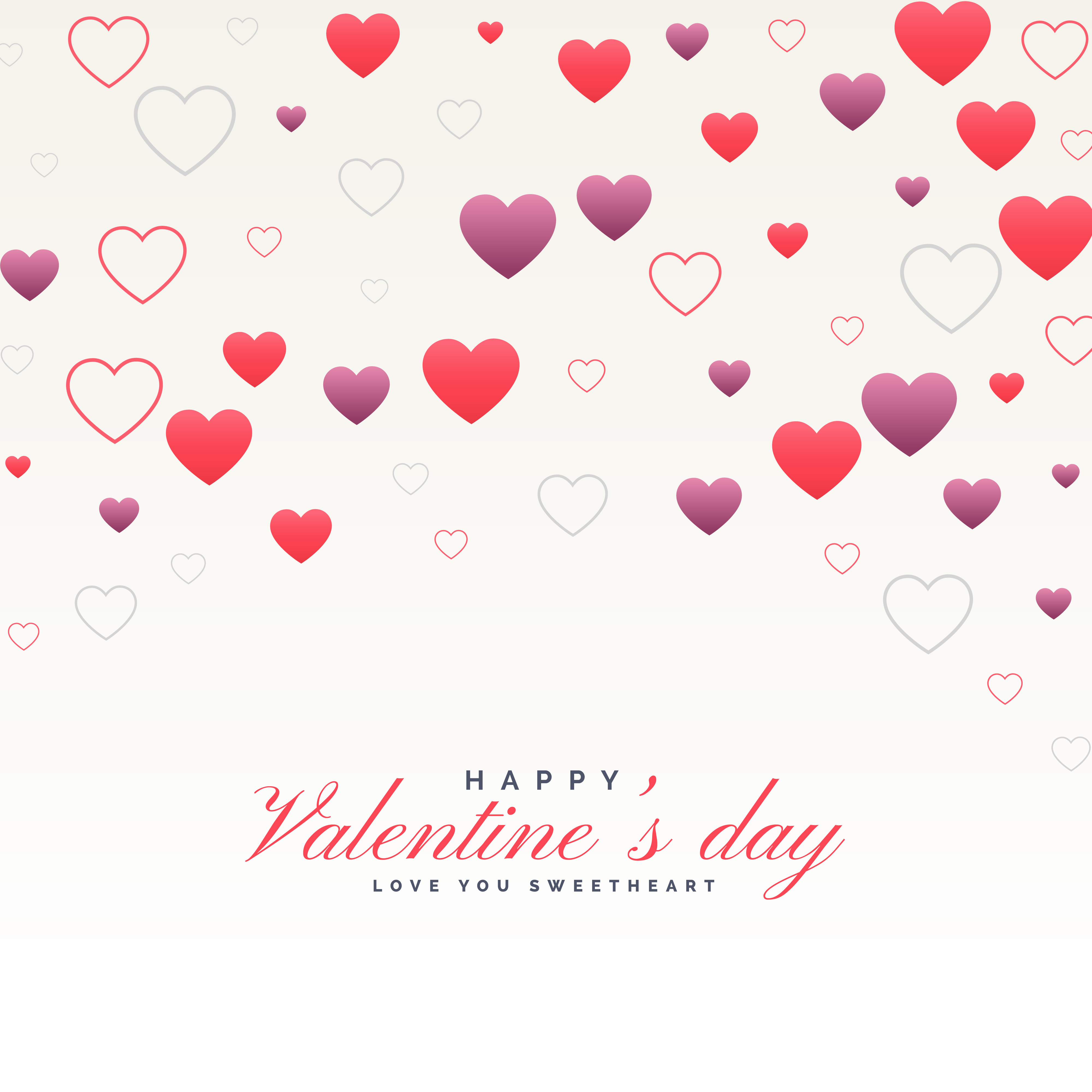 clean white valentine 39 s day background with hearts pattern. Black Bedroom Furniture Sets. Home Design Ideas