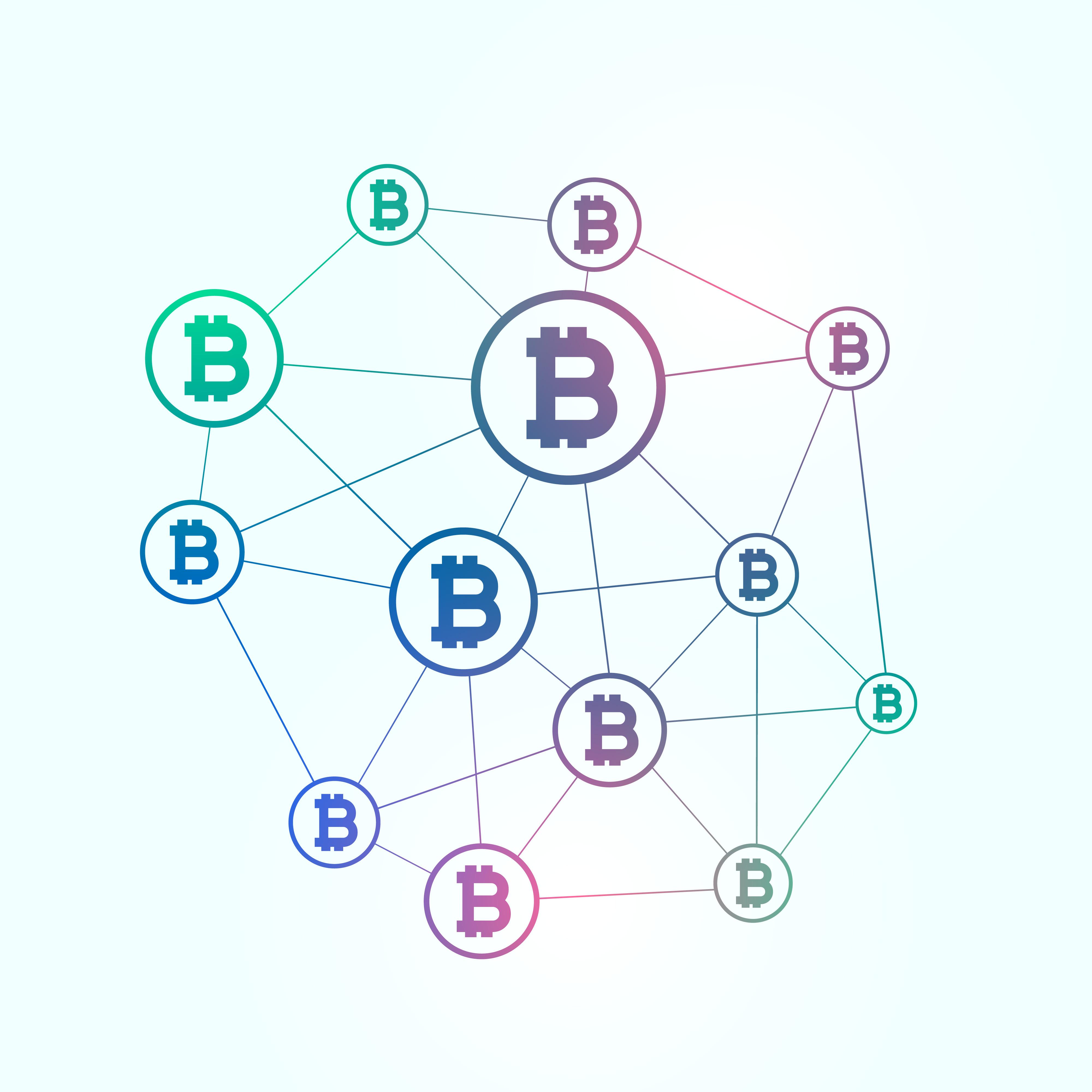 blockchain network background vector bitcoins system dapp development education vectors graphics freepik revolutionize money citrusbits tech