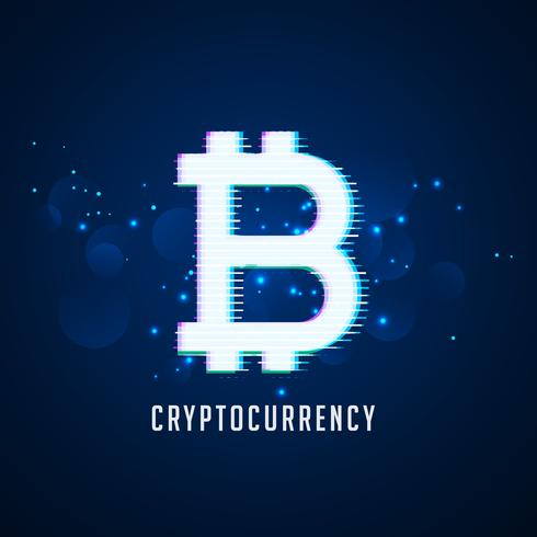 cryptocurrency digital bitcoins symbol technology background