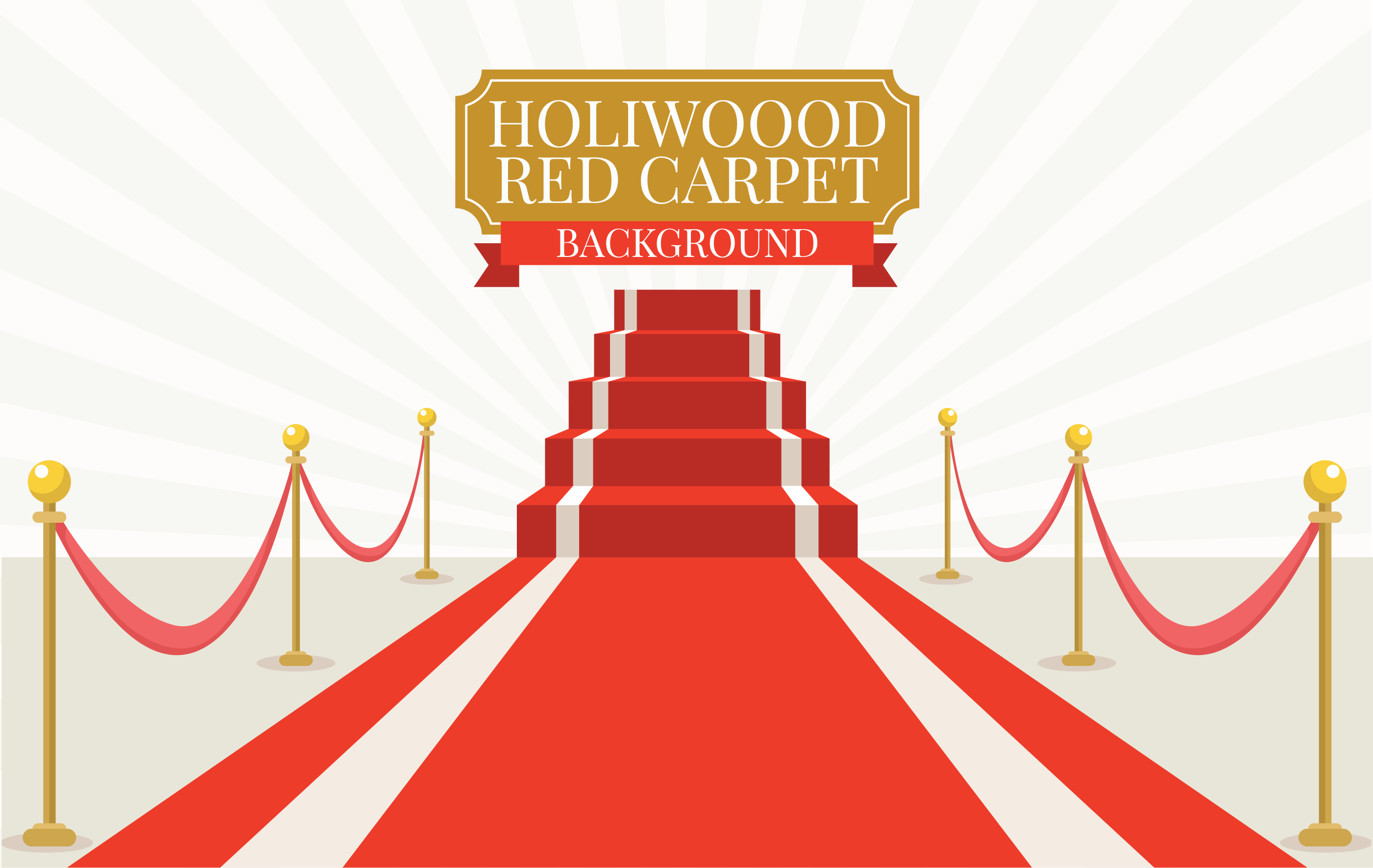 Hollywood Red Carpet - Download Free Vector Art, Stock ...