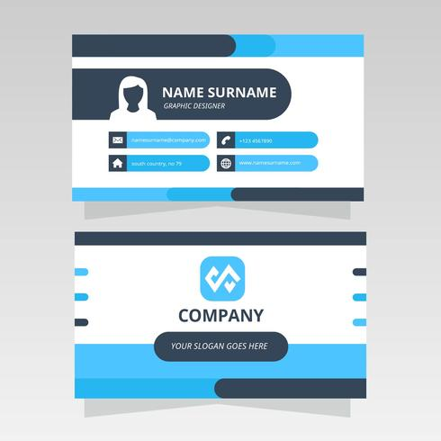 Minimalistic Modern Business Card for Graphic Design