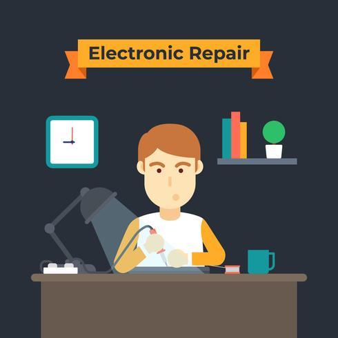Elektronische Reparatur