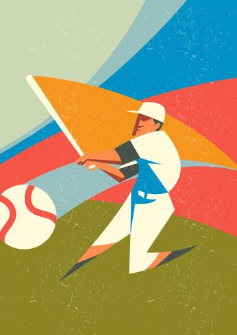 Cartão de beisebol vintage