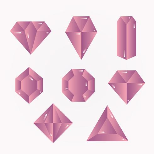 Expensive Gems Vector