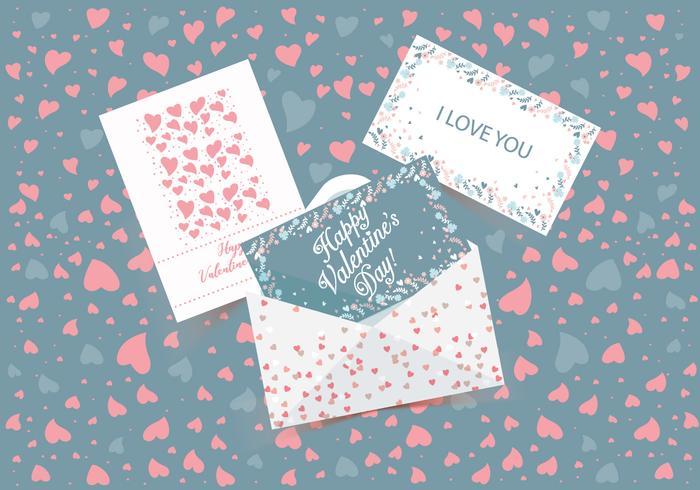 valentijn kaarten vol 3 vector