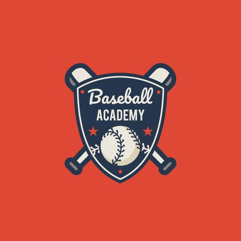 Vintage Baseball Emblem - Download Free Vector Art, Stock Graphics & Images