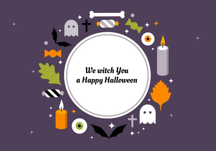 Free Flat Halloween Vector Elements Collection - Download Free Vector Art, Stock Graphics & Images