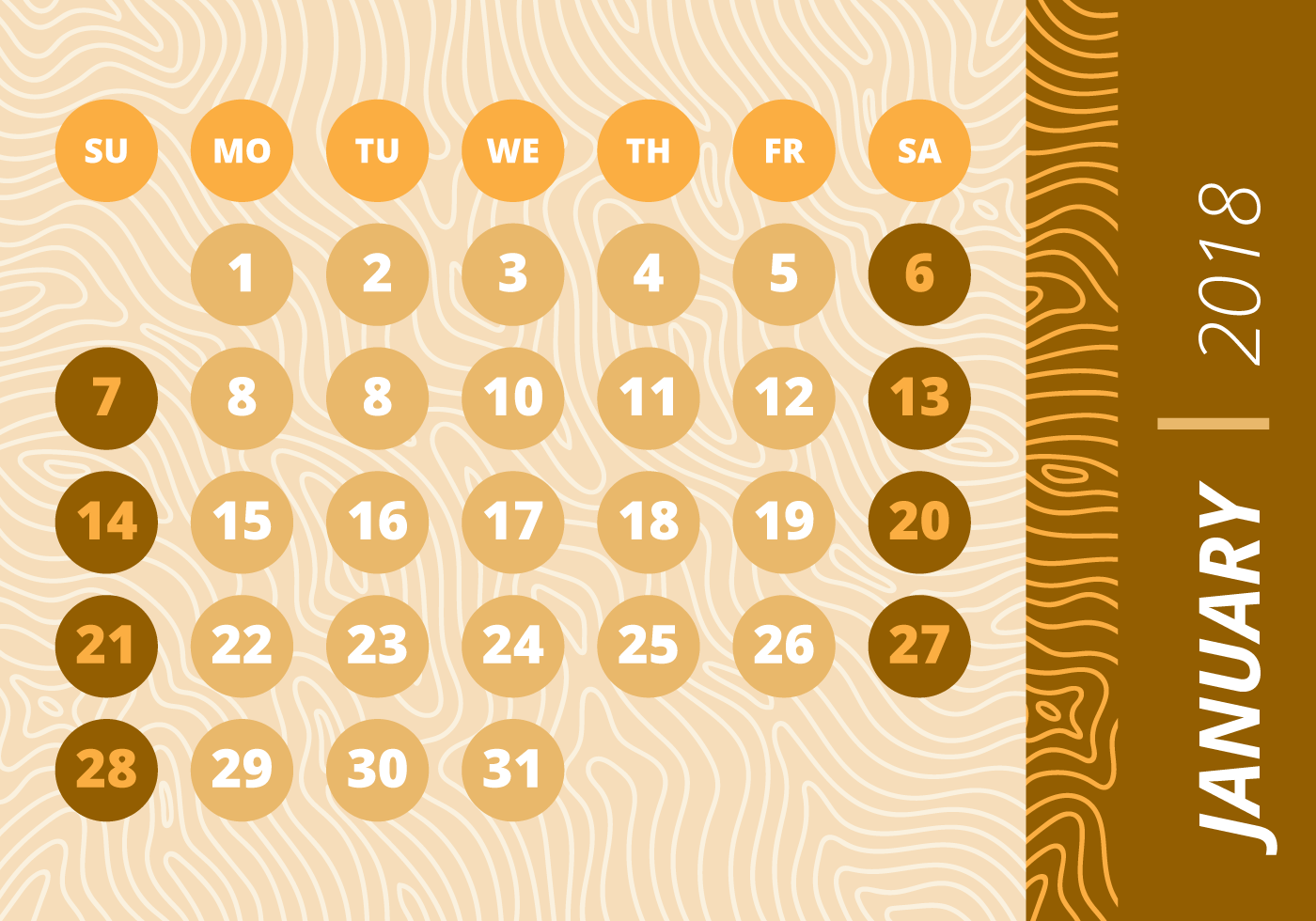 Monthly Calendar Background : Monthly calendar wood background download free vector