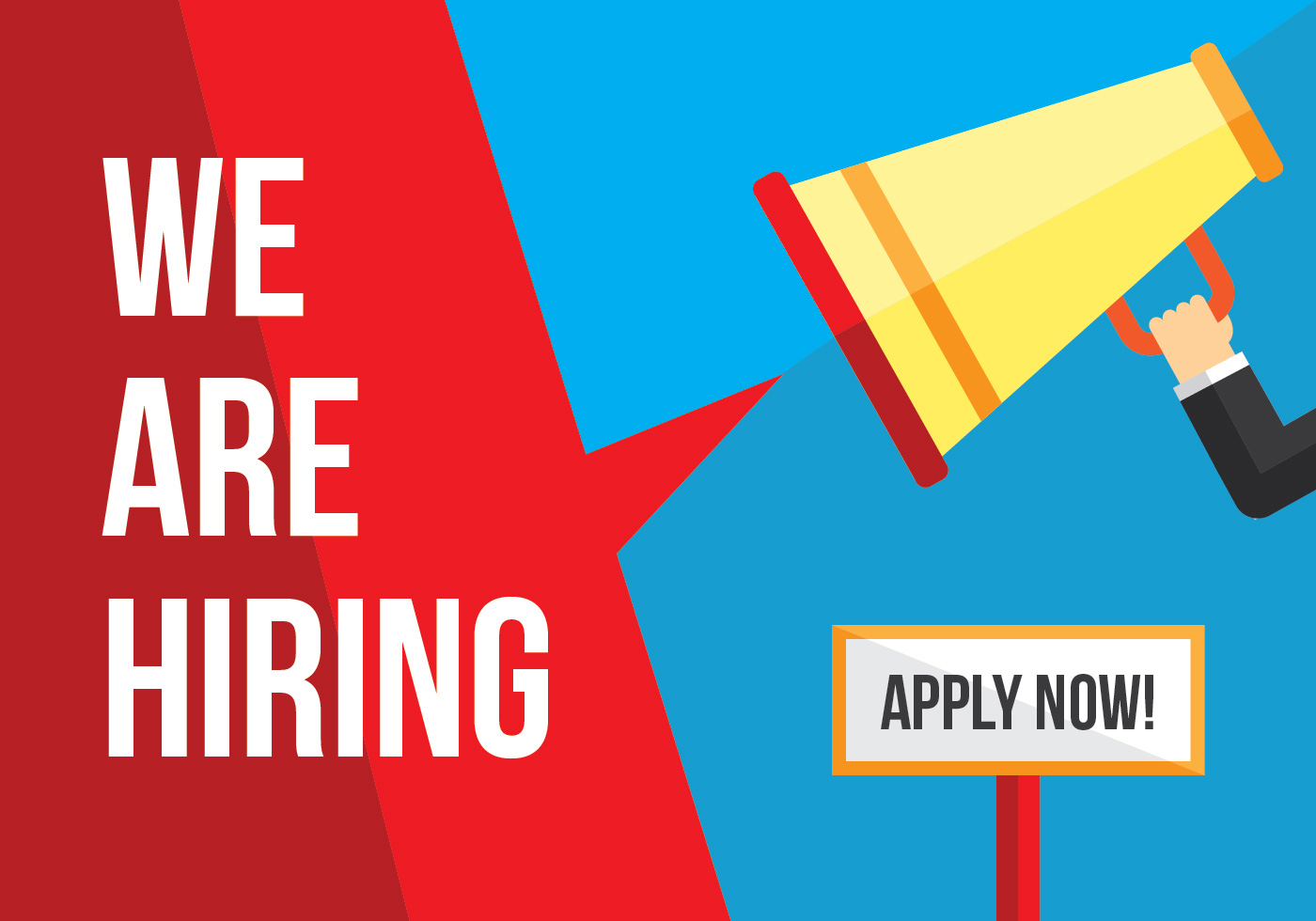 Job Vacancy Banner Download Free Vectors Clipart