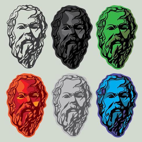 Socrates Line Art