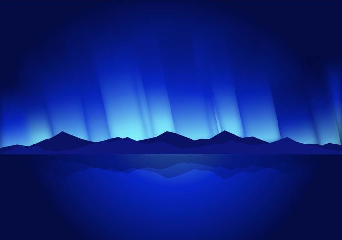 Montañas vector