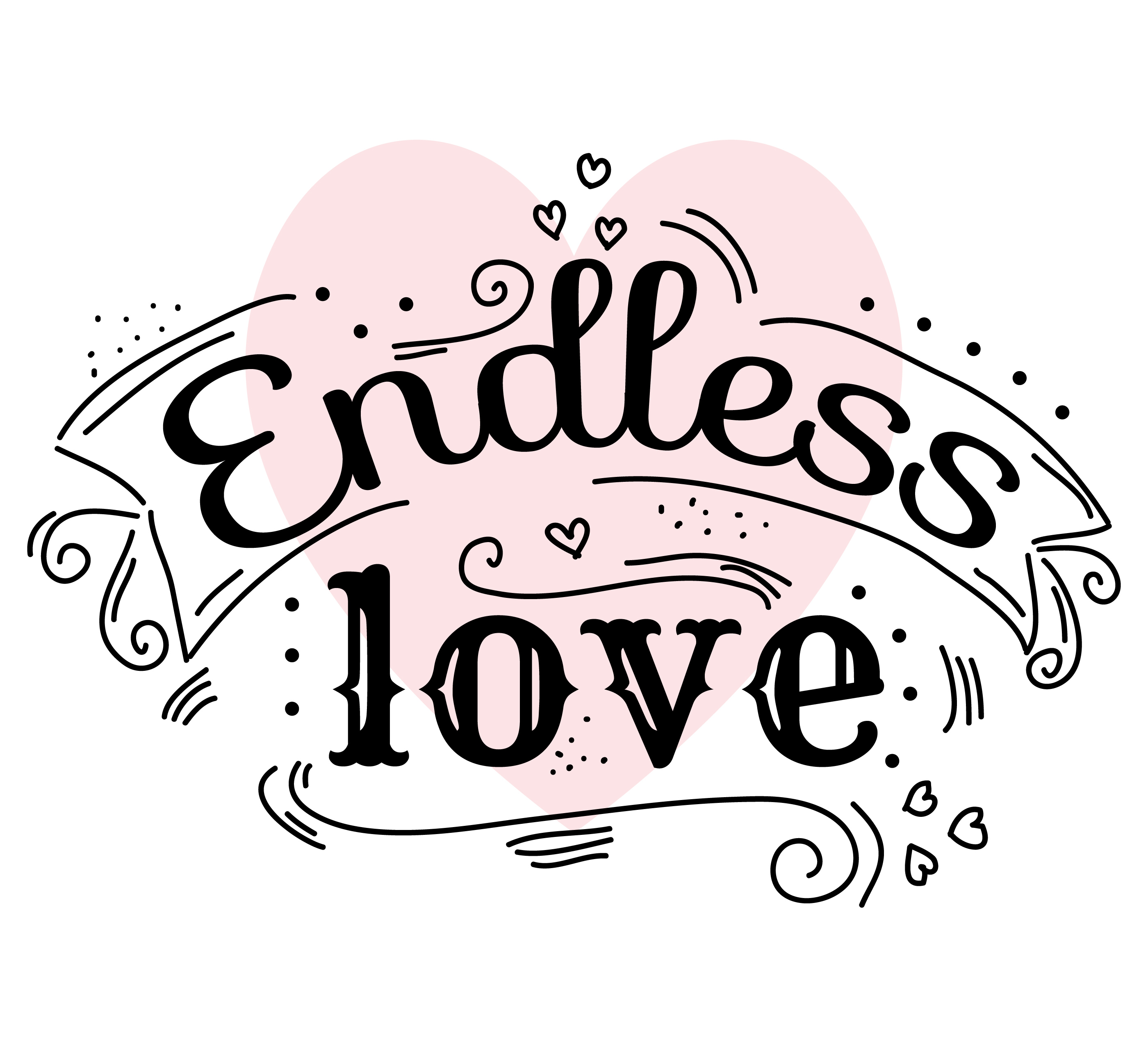 Endless Love Vector - Download Free Vector Art, Stock ...