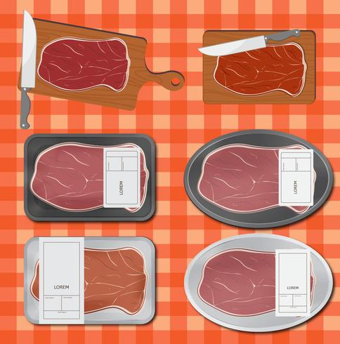 Kalfsvlees verpakking