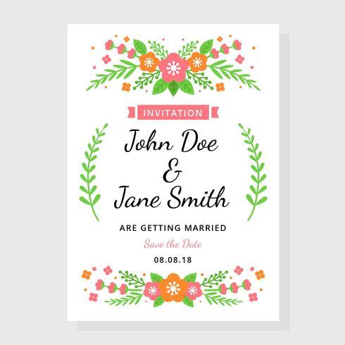 Wedding invitation vector download free vector art stock wedding invitation vector stopboris Choice Image