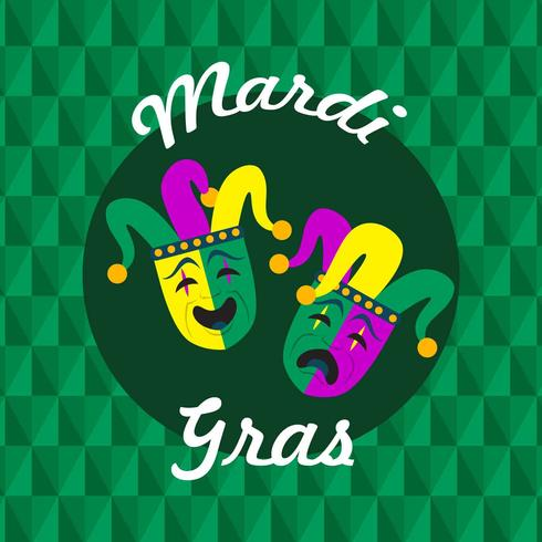 Mardi Gras Parade Illustratie