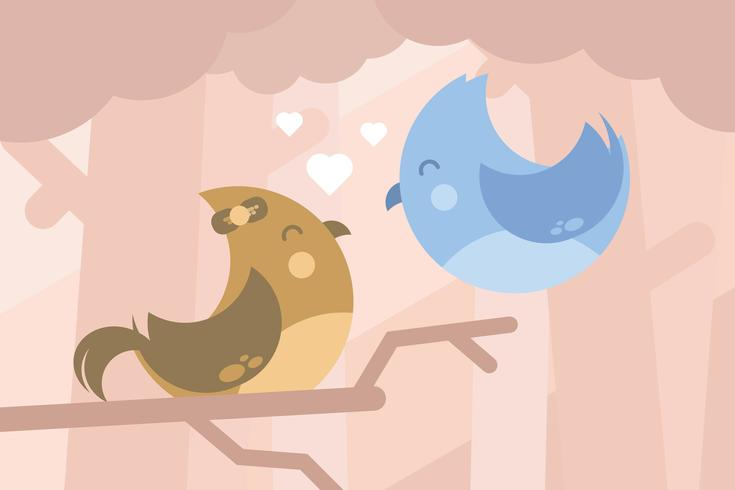 Creatures in Love Illustration