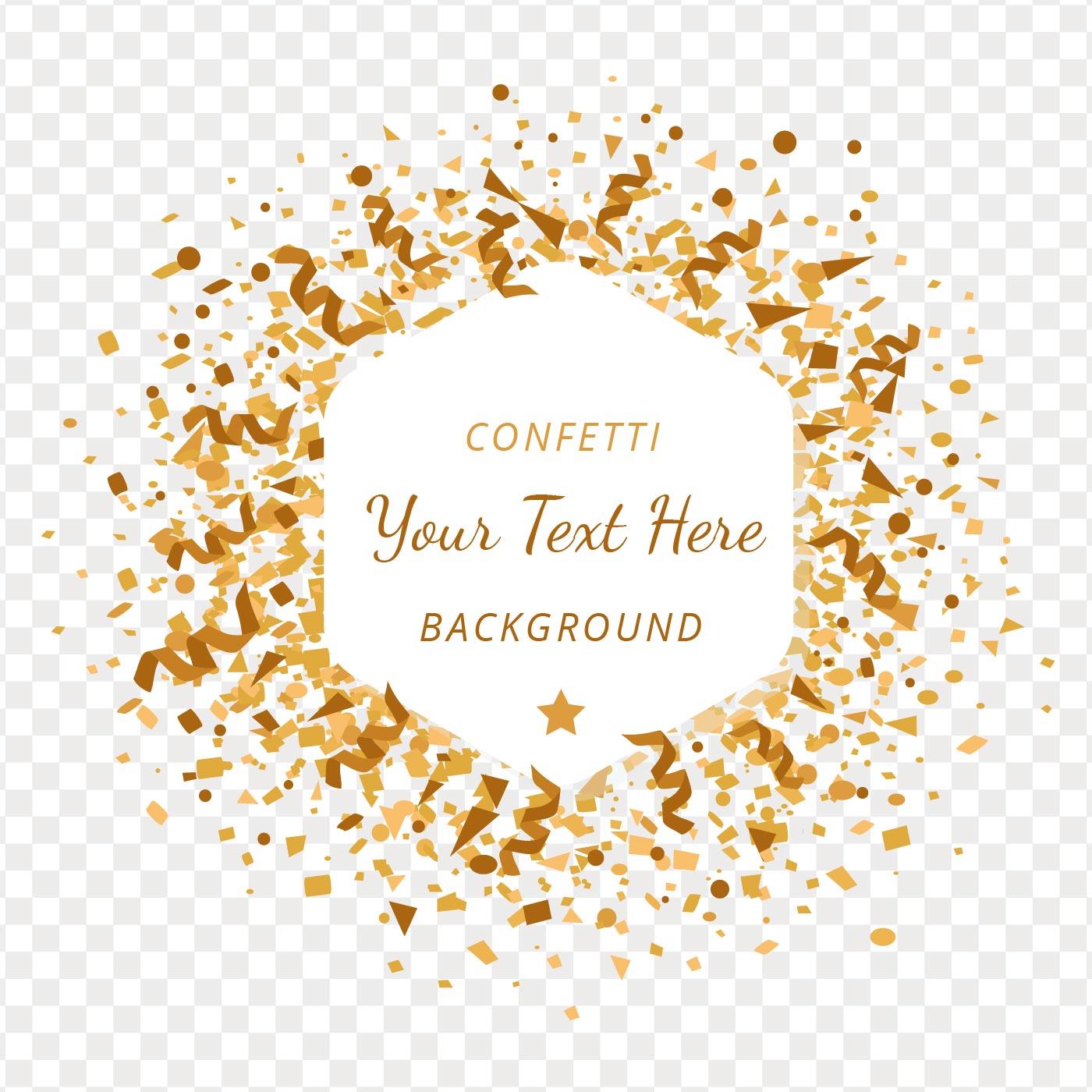 Gold Confetti Free Vector Art - (3826 Free Downloads)