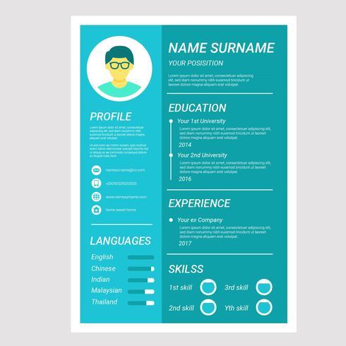 Flat Cv or Resume Company