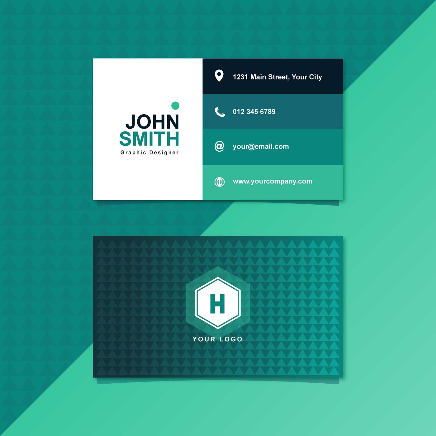 Free Business Card Graphics: Graphic Design Business Card