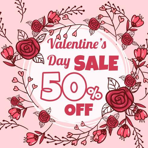 Vente de Saint Valentin