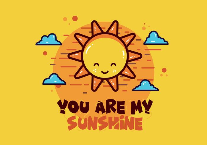 Jij bent mijn zonnevector