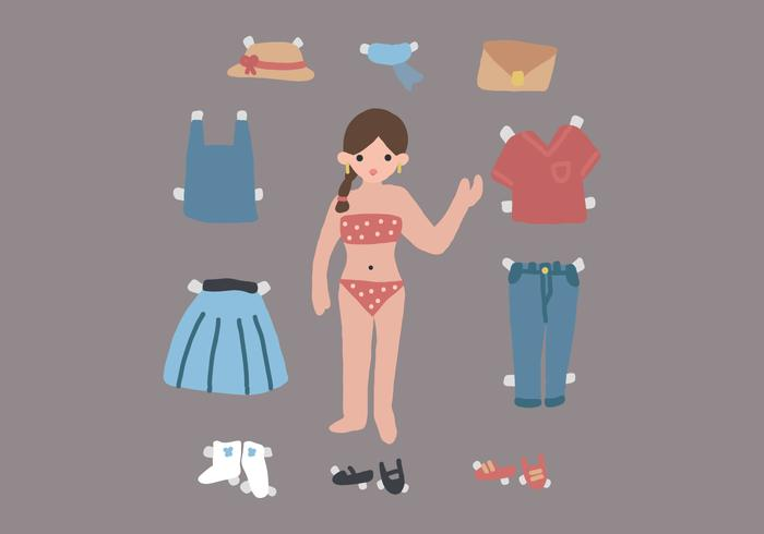 Doll For Dressing