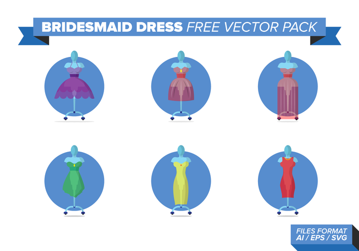 Bridesmaid Free Vector Pack