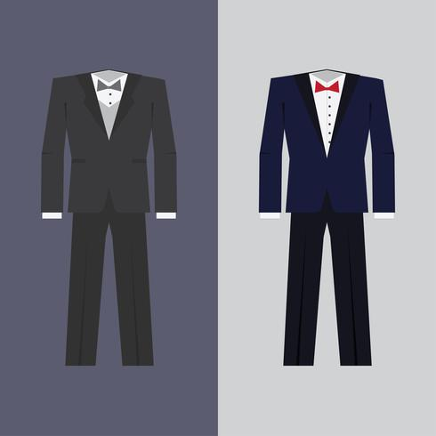Tuxedo in two colors