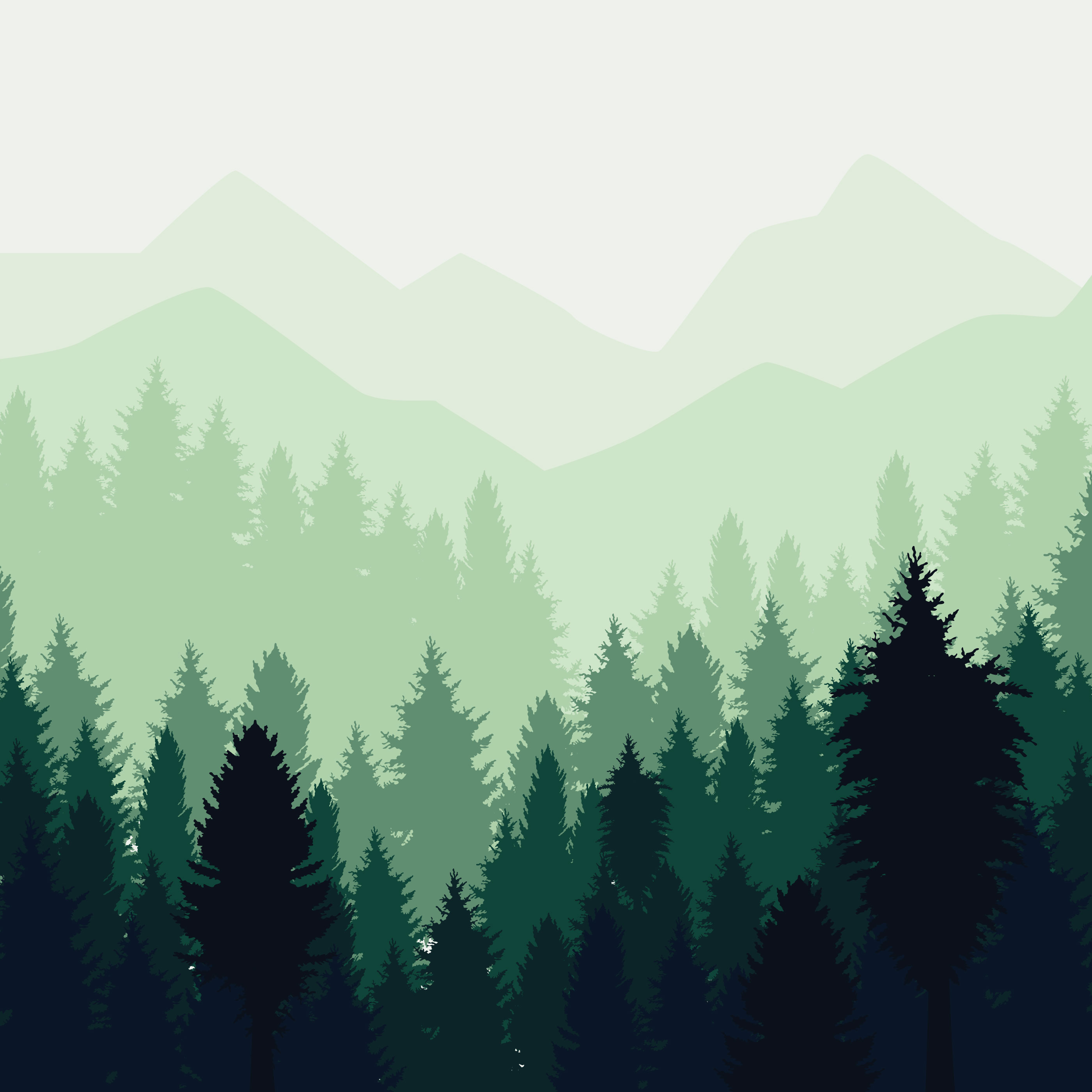 Forest Silhouette Free Vector Art 10 685 Free Downloads