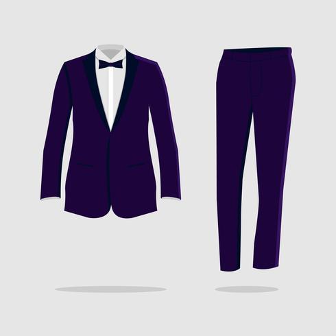 Tux/Tuxedo Vector Illustration