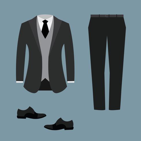 Herren Smoking Anzug