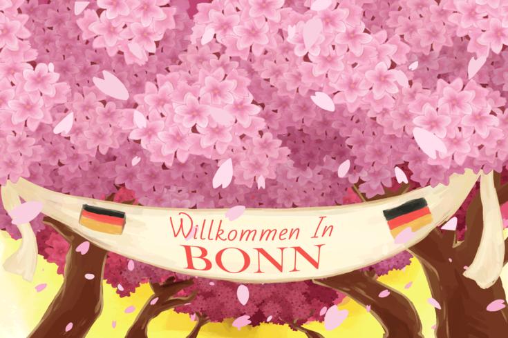 Springtime Bonn Germany