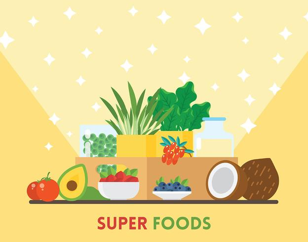 Illustration de Super Foods