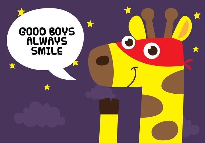 Super Giraffe Quote