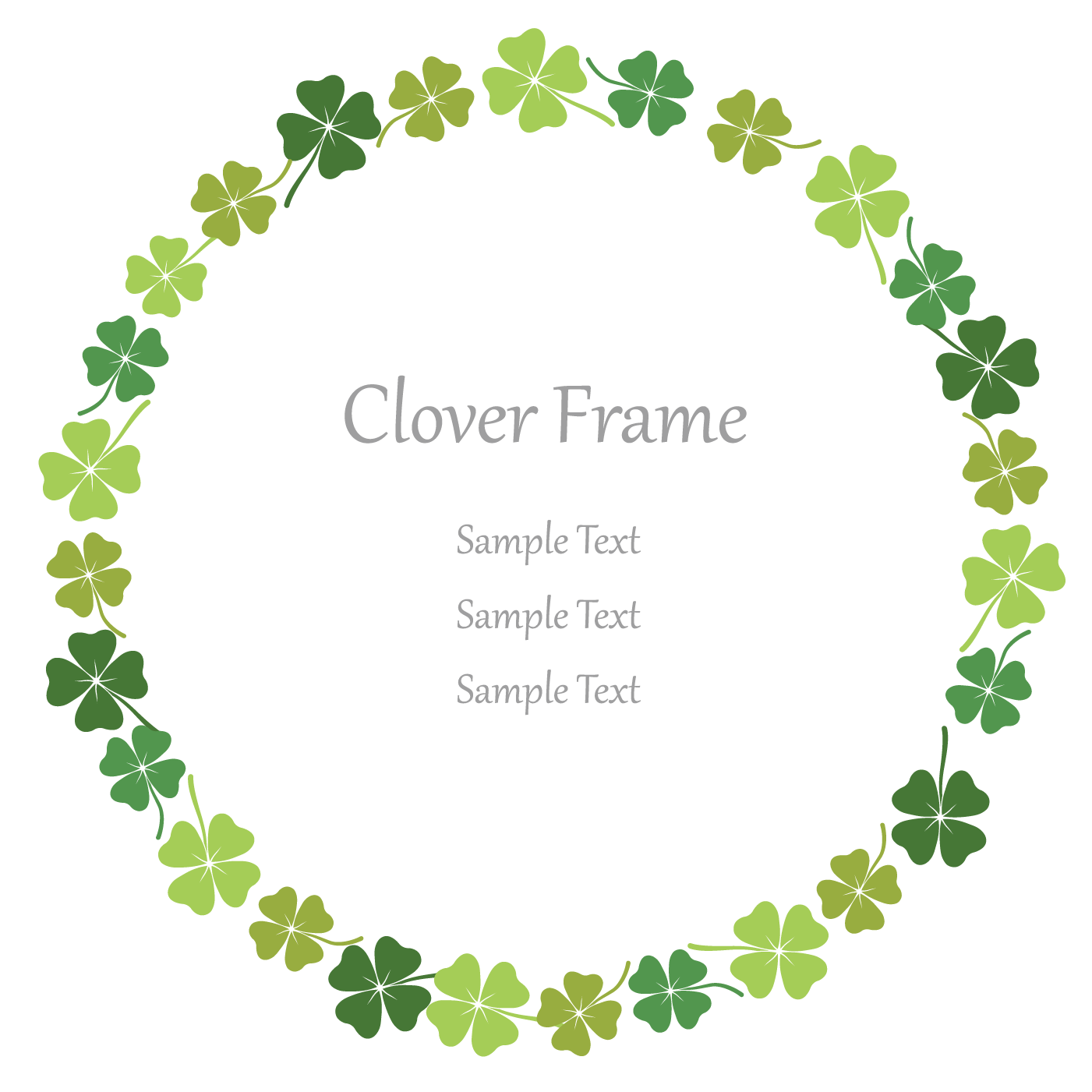 four leaf clover vector 6278 free downloads