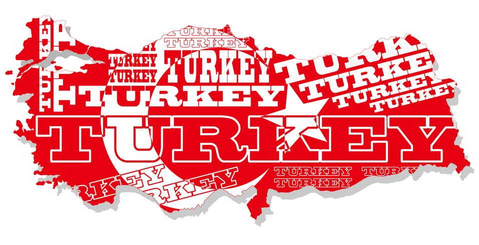 A map of Turkey. - Download Free Vectors, Clipart Graphics ...