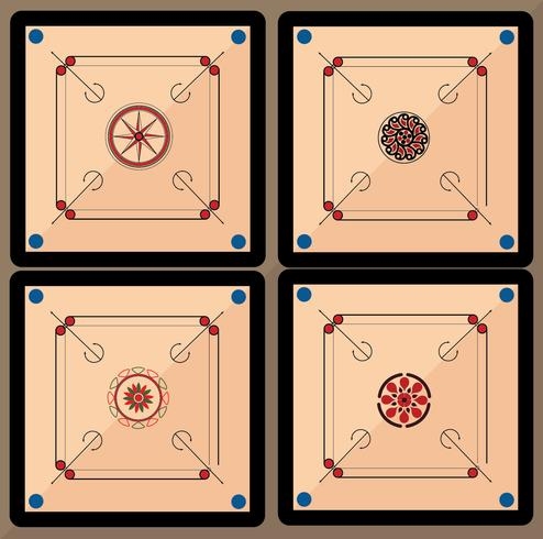 pack de vecteur de carrom board